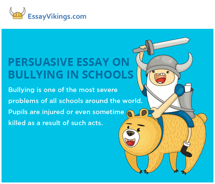 How To Use A Thesis Statement In An Essay How To Write A Persuasive Essay On Bullying In Schools Persuasive Essay Sample High School also Process Paper Essay Writing A Persuasive Essay On Bullying In Schools  Essayvikingscom Science And Society Essay
